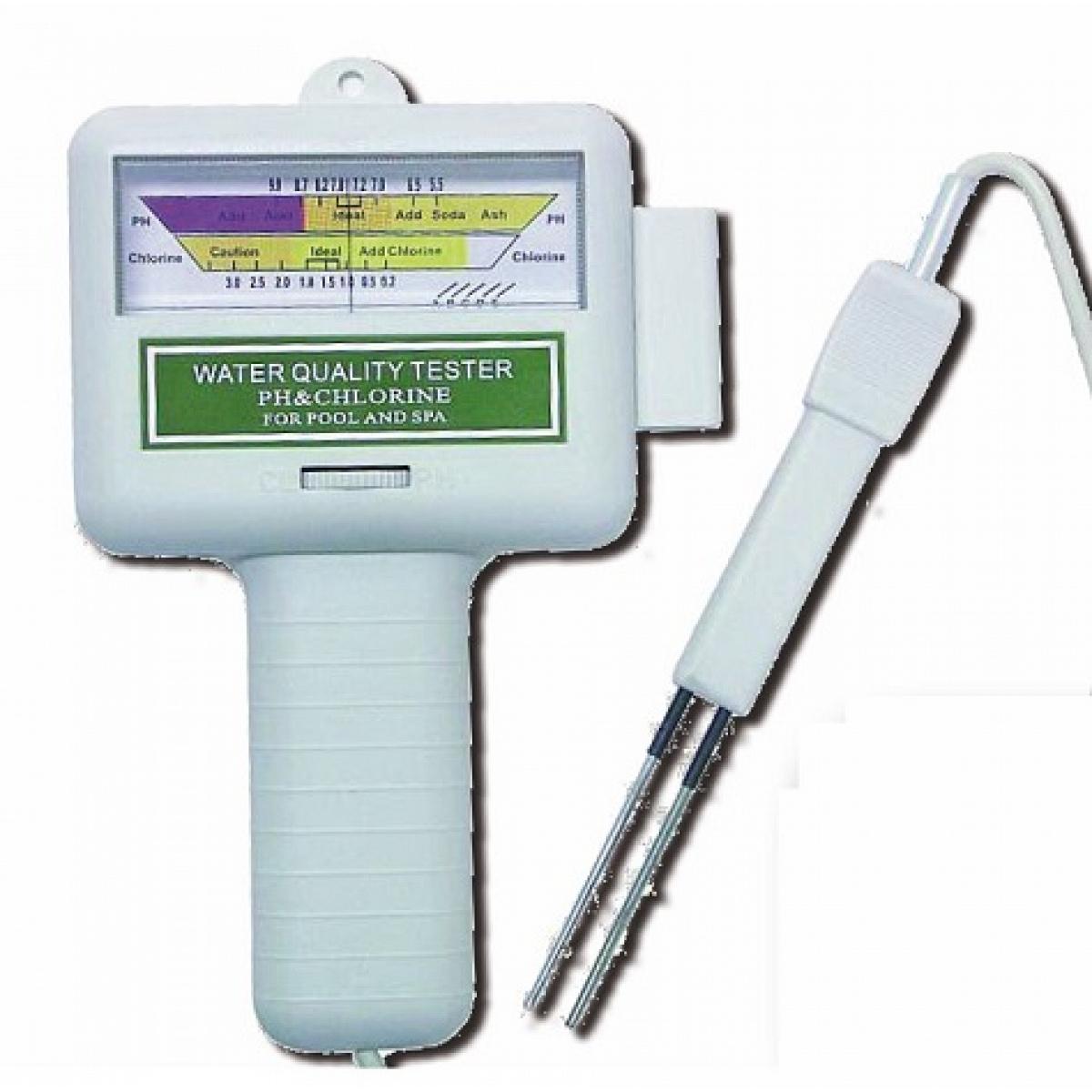 Tester elettronico ph cloro verdegarden accessori - Misuratore ph piscina ...