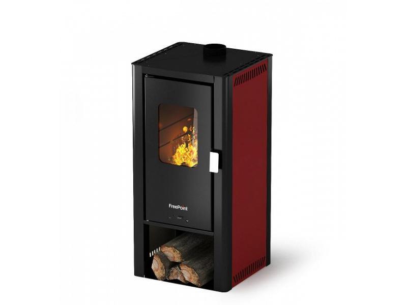 Stufe a legna 6.6 kw mod miniwood rosso cadel - Cadel Stufe