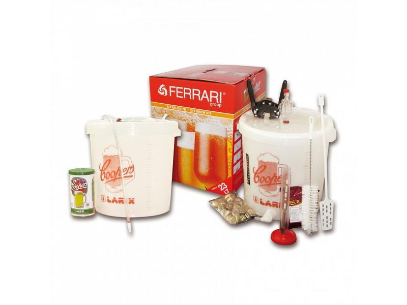 Kit Fermentazione Birra Cooper Mod. Lux Con Malto