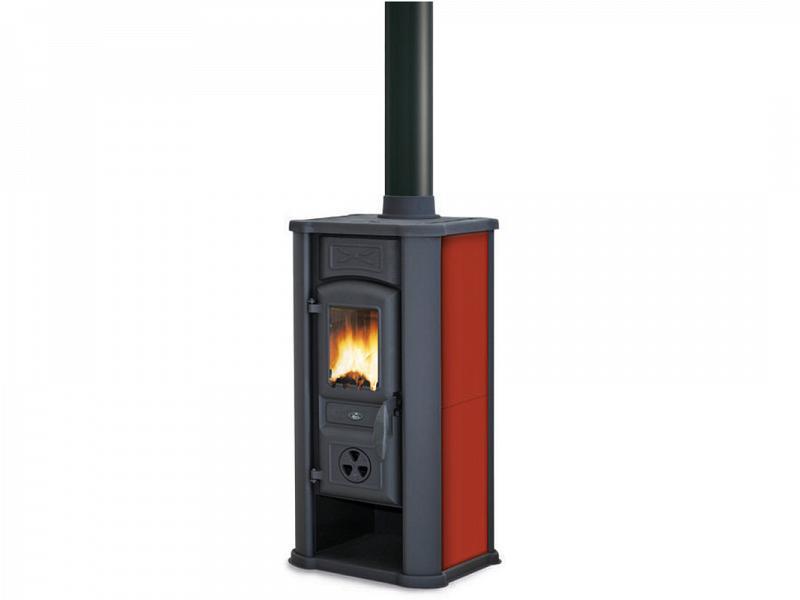 Stufa a legna rosso royal palazzetti mod efesto - Stufa a combustibile liquido opinioni ...