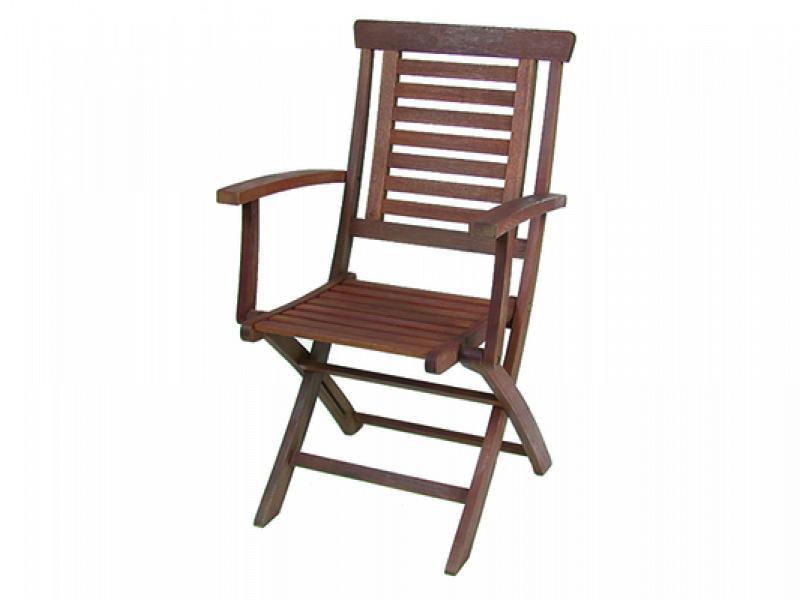 Sedie In Legno Con Braccioli : Sedia pieghevole con braccioli vette cm in legno k