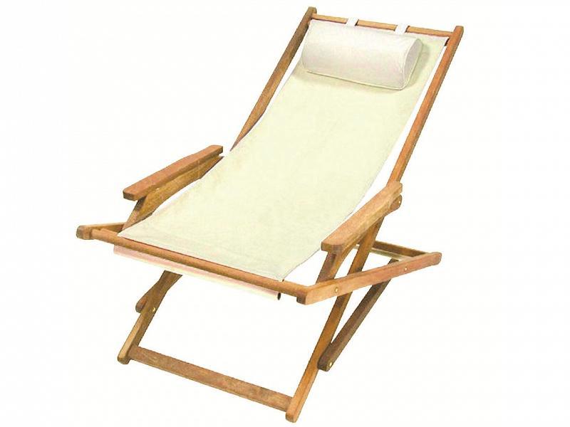 Sedia A Sdraio Tessuto : Sedie a sdraio in legno e tela sedie e sdraio in legno in tessuto