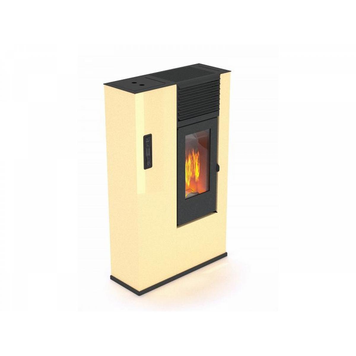 Stufa a pellet 7 5 kw mod giorgina avorio punto fuoco - Stufa a combustibile liquido opinioni ...
