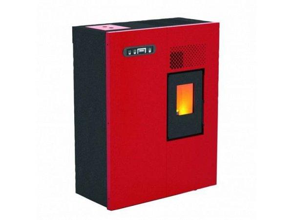 Stufa a pellet 4 5 kw modello camilla rossa punto fuoco - Stufa a combustibile liquido opinioni ...