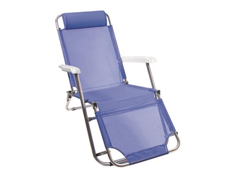 Sedia A Sdraio Alluminio.Sedia Sdraio In Alluminio Allungabile Vette Vette Sedie