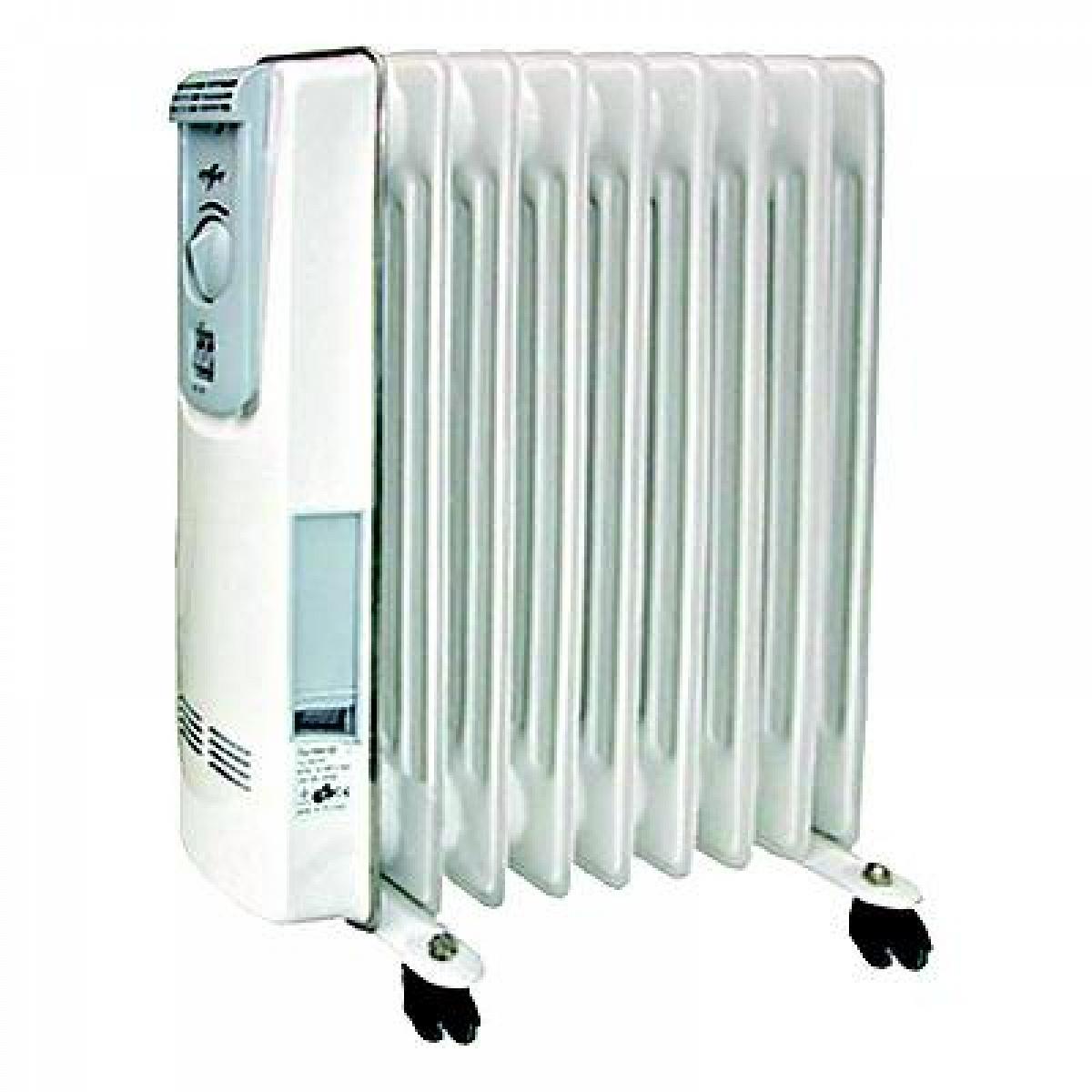 Stufa termoradiatore ad olio 9 elementi verdegarden - Stufe a olio elettriche ...