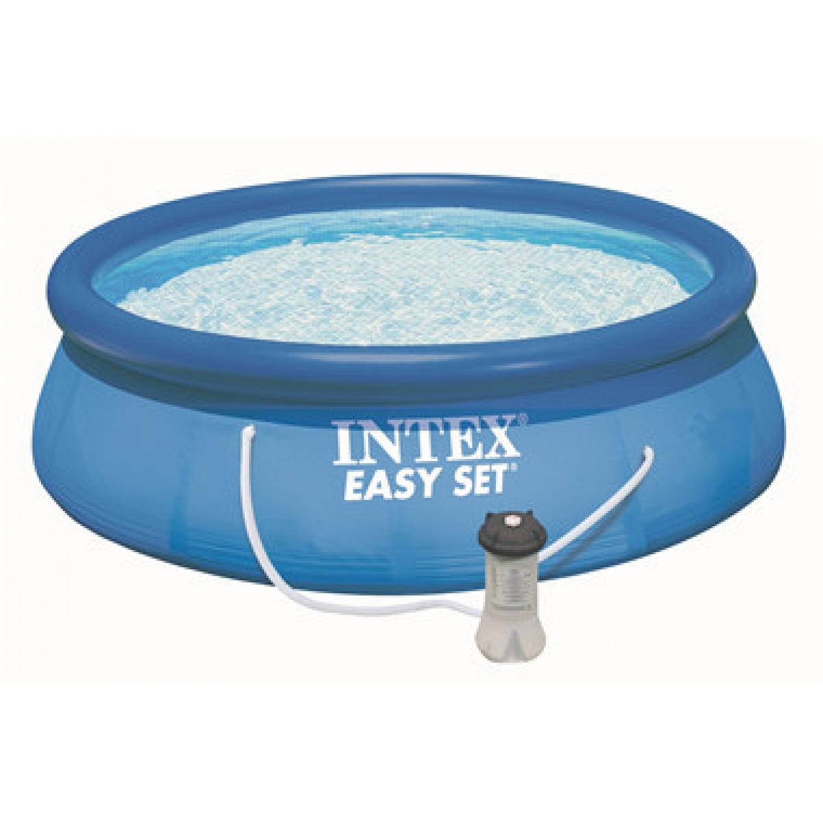 Piscina tonda intex fuoriterra 305x76 mod easy set intex - Filtri per piscine fuori terra ...