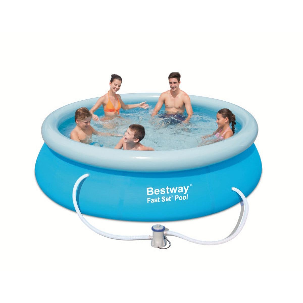 Piscina tonda fuoriterra bestway 366x76 mod fast set - Filtri per piscine fuori terra ...