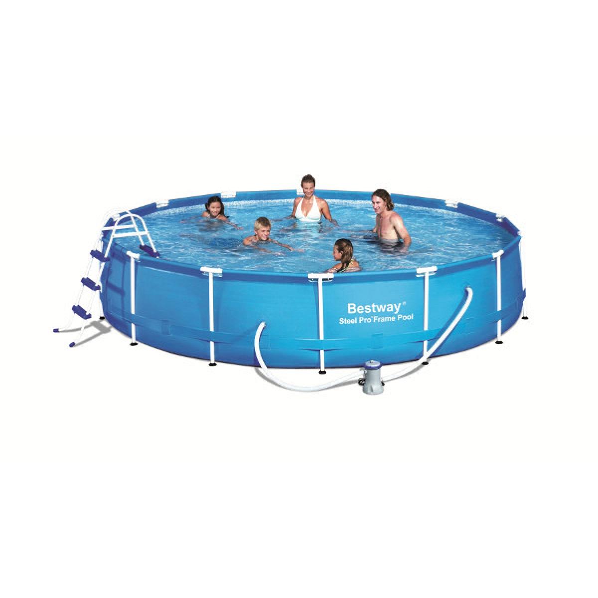 Piscina fuoriterra tonda bestway 457x91 mod steel pro - Filtri per piscine fuori terra ...