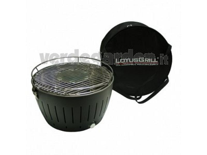 Grill da tavolo barbecue senza fumo lotusgrill xl verde - Barbecue a gas da tavolo ...