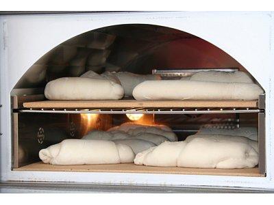 Particolare interno della camera di cottura