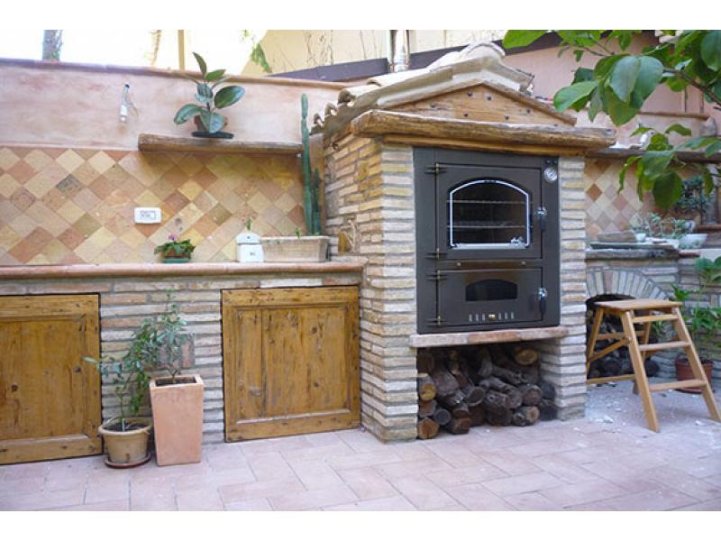Forno da incasso ventilato mod jolly 80 tranquilli - Forno a legna da giardino usato ...