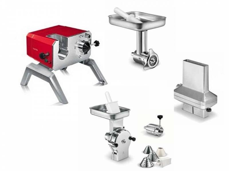 Toollio robot professionale da cucina rosso full kit tre - Miglior robot da cucina che cuoce ...