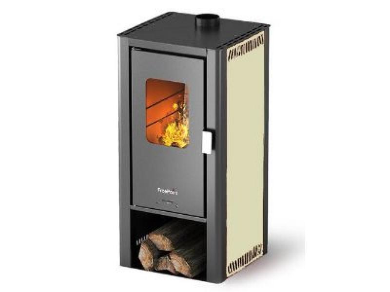 Stufe a legna 6.6 kw mod miniwood avorio cadel - Cadel Stufe