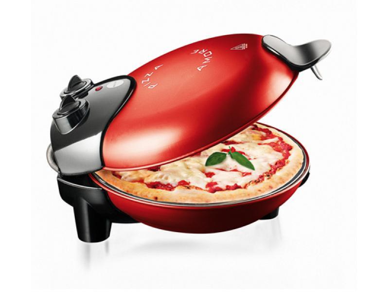 Forno elettrico per pizza macom rossa 1000 watt - Forno elettrico pizza casa ...