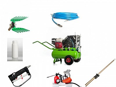 Verdegarden Kit 1 Operatore con Motocompressore DUETTO