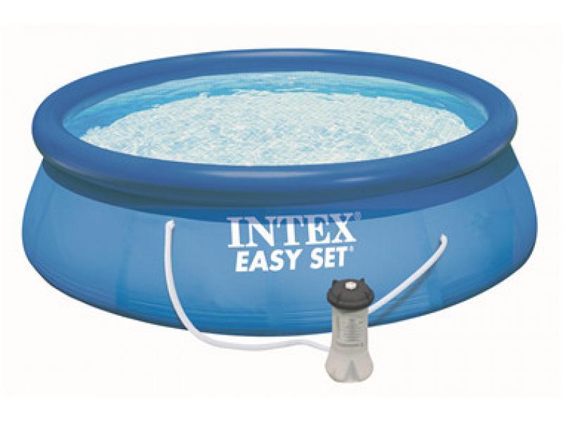piscina tonda intex fuoriterra 305x76 mod easy set intex. Black Bedroom Furniture Sets. Home Design Ideas