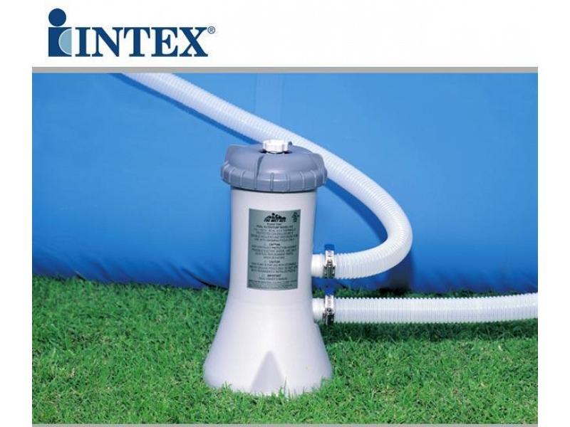 Piscina tonda intex fuoriterra 305x76 mod easy set intex for Intex piscine accessori