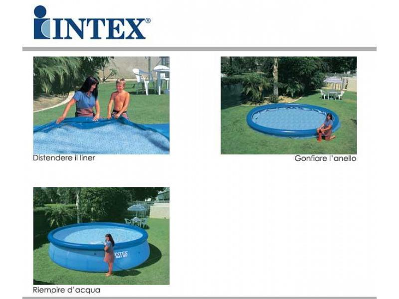 Piscina Tonda Intex Fuoriterra 457x91 Mod Easy Set Intex
