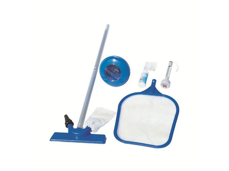 Kit accessori per piscine bestway mod deluxe bestway for Accessori per piscine