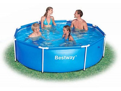 Piscine fuori terra tonde in vendita su verdegarden for Vendita piscine bestway online