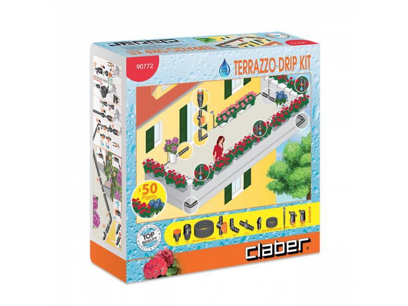 Terrazzo drip kit claber - Claber Kit irrigazione in vendita