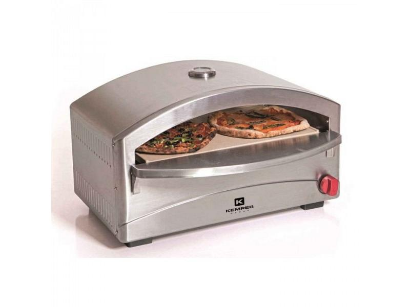 Forno per pizza a gas kemper mod pizza oven 90655 kemper for Forno per pizza su fornello a gas