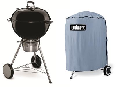 barbecue bbq weber original kettle premium 57 con custodia. Black Bedroom Furniture Sets. Home Design Ideas