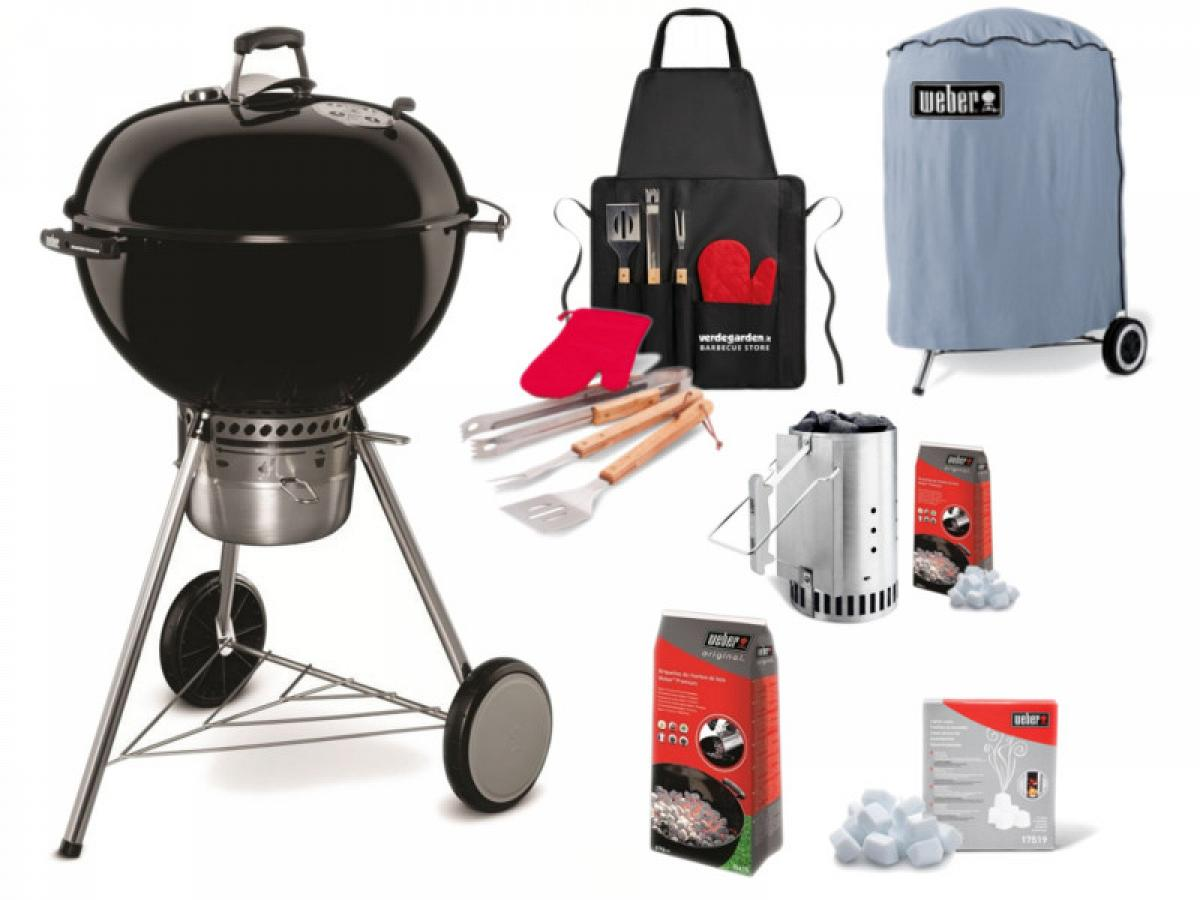 Barbecue a carbone Weber Master Touch GBS 57 Kit Completo