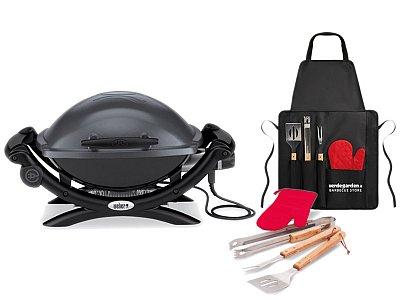 bbqs elettrici weber barbecue e grill serie q. Black Bedroom Furniture Sets. Home Design Ideas