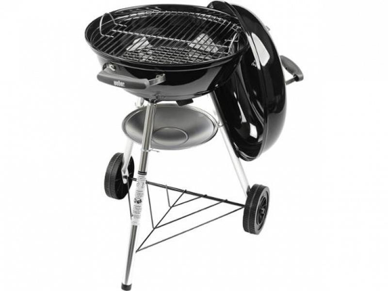 barbecue a carbone weber compact kettle 47 cm. Black Bedroom Furniture Sets. Home Design Ideas