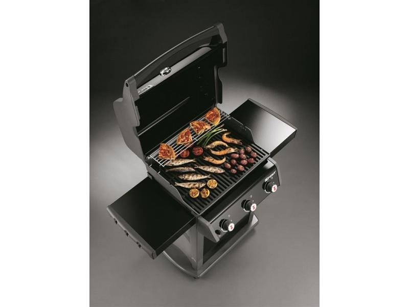 barbecue a gas spirit e 310 weber con 3 bruciatori. Black Bedroom Furniture Sets. Home Design Ideas