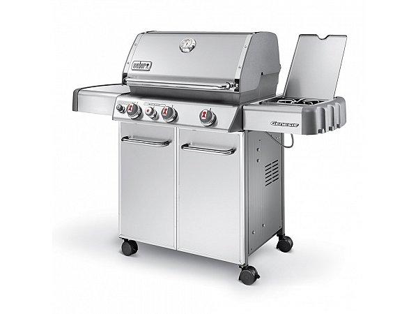 barbecue a gas weber genesis s 330 gbs con fornello laterale. Black Bedroom Furniture Sets. Home Design Ideas