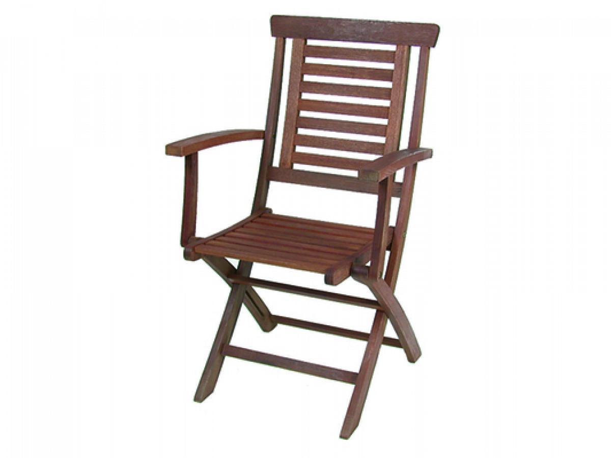 Sedie In Legno Con Braccioli : Sedia pieghevole con braccioli vette 48.5x58.5 cm in legno k