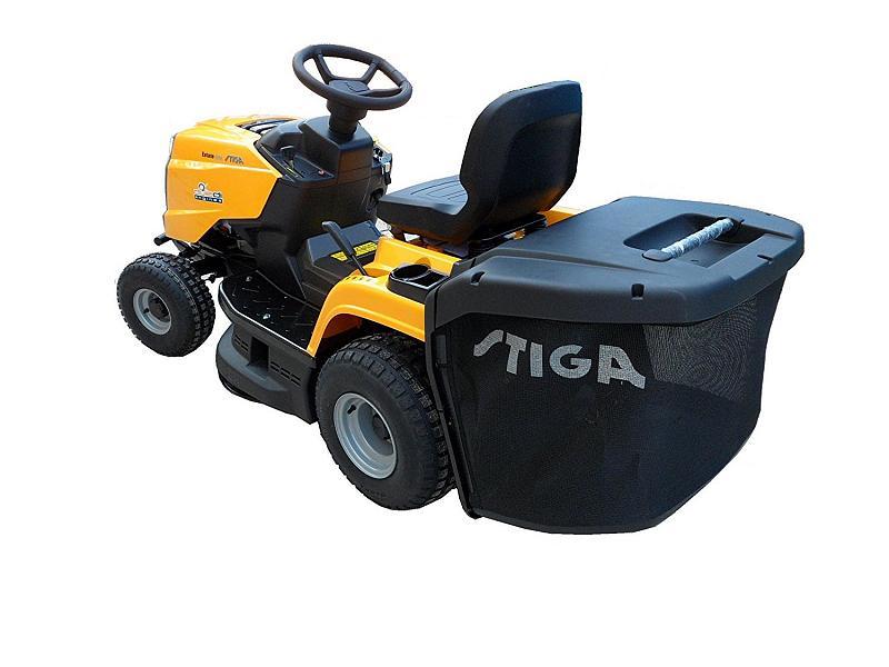 trattorino tosaerba stiga estate 2084 h con potenza di 7 4. Black Bedroom Furniture Sets. Home Design Ideas