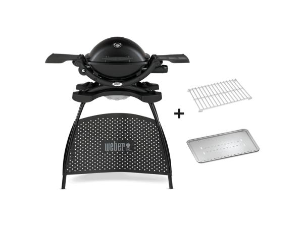 Barbecue a gas weber q1200 portatile con stand supporto - Barbecue portatile a gas ...